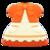 Fairy-Tale Dress (Orange) NH Icon.png