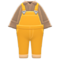 Denim Overalls (Orange) NH Icon.png