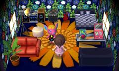 Fuchsia's house interior