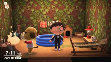 Interior of Mac's house in Animal Crossing: New Horizons