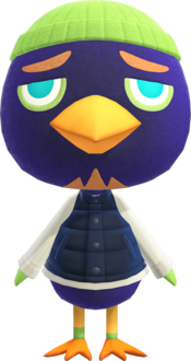 Jacques, an Animal Crossing villager.