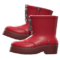 Lace-Up Boots (Red) NH Icon.png