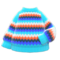 Rainbow Sweater (Light Blue) NH Icon.png
