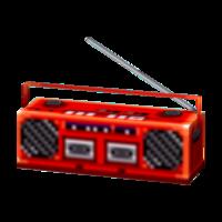 Red Boom Box