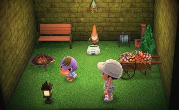 Interior of Mallary's house in Animal Crossing: New Horizons