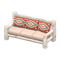 Log Extra-Long Sofa (White Birch - Southwestern Flair) NH Icon.png