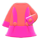 Retro A-Line Dress (Pink) NH Icon.png