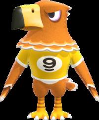 Buzz, an Animal Crossing villager.