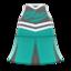 Cheerleading Uniform (Green) NH Icon.png