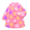 Dotted Raincoat (Pink) NH Icon.png