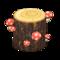 Mush Log (Red Mushroom) NH Icon.png