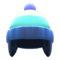 Knit Cap with Earflaps (Blue) NH Icon.png