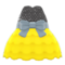 Bubble-Skirt Party Dress (Yellow) NH Icon.png