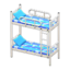 Bunk Bed (White - Space)