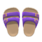 Comfy Sandals (Purple) NH Icon.png