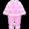 Fleece Pj's (Pink) NH Icon.png