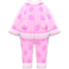 Fleece Pj's (Pink) NH Icon.png