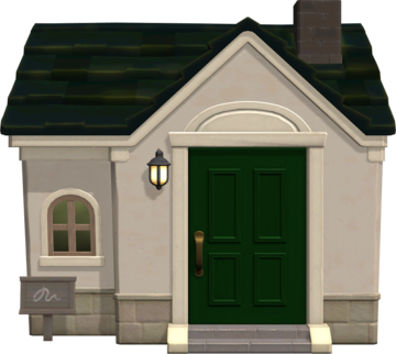Exterior of Opal's house in Animal Crossing: New Horizons