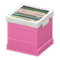 Record Box (Pink - None) NH Icon.png