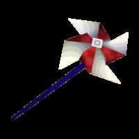 Striped Pinwheel