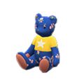 Baby Bear (Floral - Star) NH Icon.png