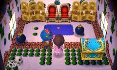 Ganon's house interior