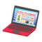 Laptop (Red - Online Shopping) NH Icon.png