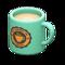 Mug (Turquoise - Round Logo) NH Icon.png