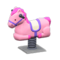 Springy Ride-On (Pink) NH Icon.png