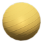 Exercise Ball (Gold)