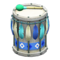 Festivale Drum (Blue) NH Icon.png