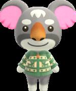 Artwork of Gonzo the Koala