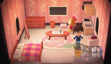 Interior of Ava's house in Animal Crossing: New Horizons