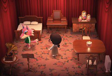 Interior of Freya's house in Animal Crossing: New Horizons