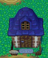 Bertha's house exterior