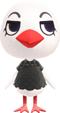 Piper, an Animal Crossing villager.