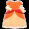 Princess Dress (Orange) NH Icon.png