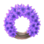 Purple Hyacinth Wreath