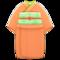 Simple Visiting Kimono (Orange) NH Icon.png