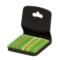 Floor Seat (Black - Pale Grass Green) NH Icon.png