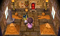 Ankha's house interior