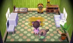 Melba's house interior
