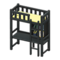 Loft Bed with Desk (Black - Yellow) NH Icon.png