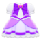 Magical Dress (Purple) NH Icon.png