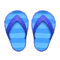 Flip-Flops (Blue) NH Icon.png