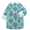 Forest-Print Dress (Pale Blue) NH Icon.png