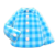 Gingham Picnic Shirt (Light Blue) NH Icon.png