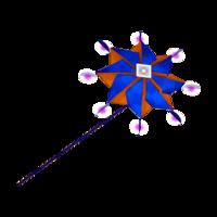 Flower Pinwheel