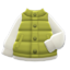 Puffy Vest (Olive) NH Icon.png