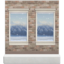 Falling-Snow Wall